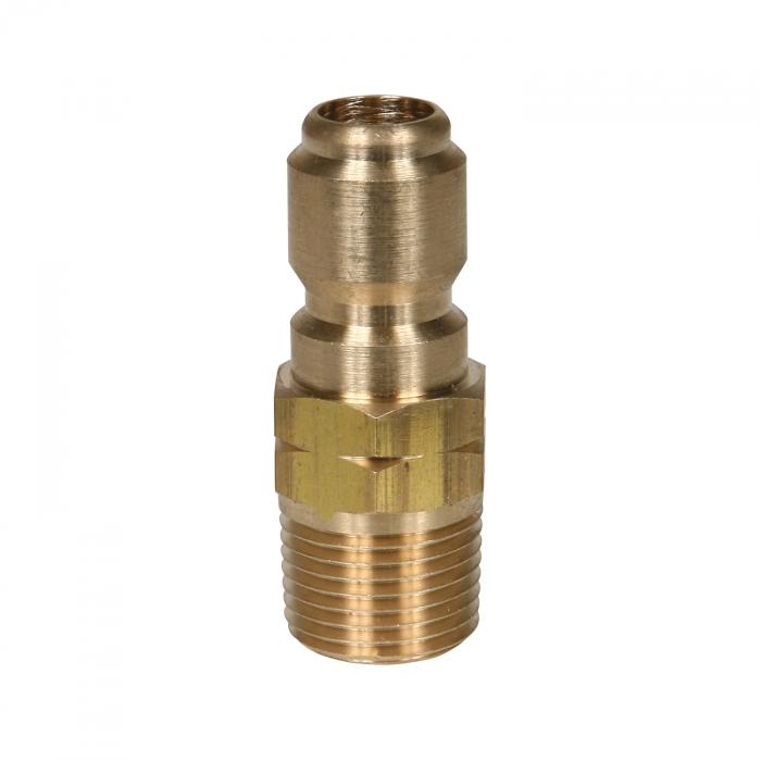 Brass Plug Male Thread - 1/2