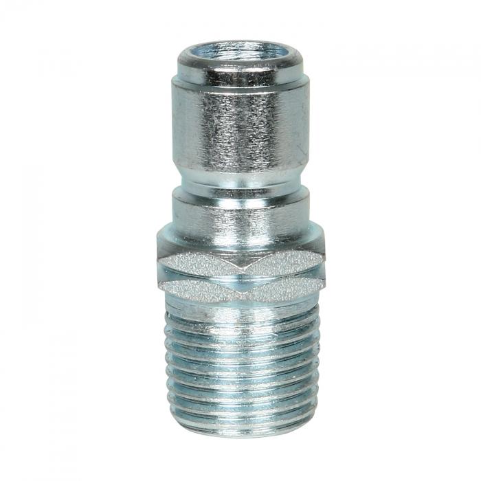 Steel Plug Male Threads - 1/2 inch - #110122