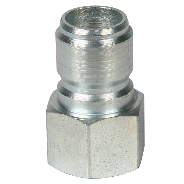 Steel Plug Female Thread - 3/4 inch