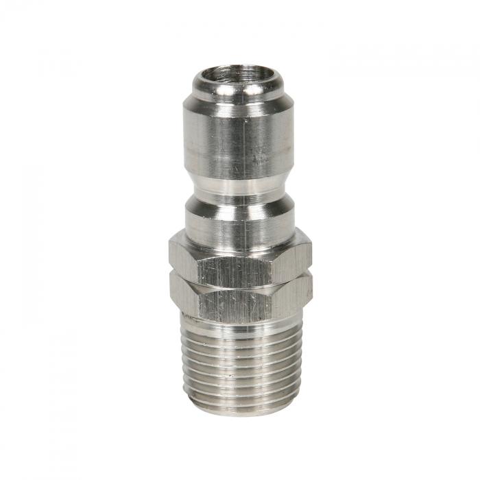 Stainless Steel Plug Male Thread - 3/8