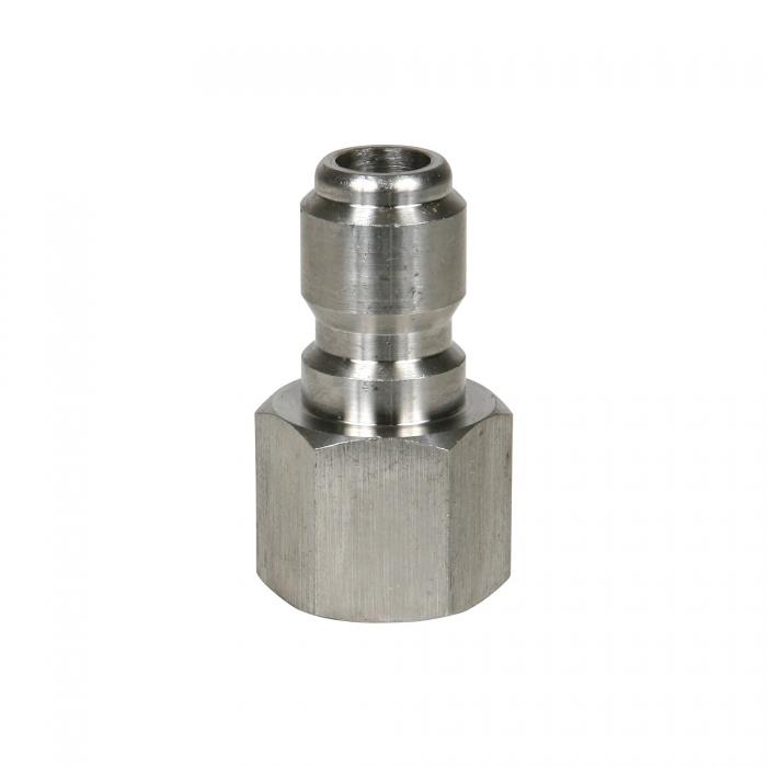 Stainless Steel Plug Female Thread - 3/8