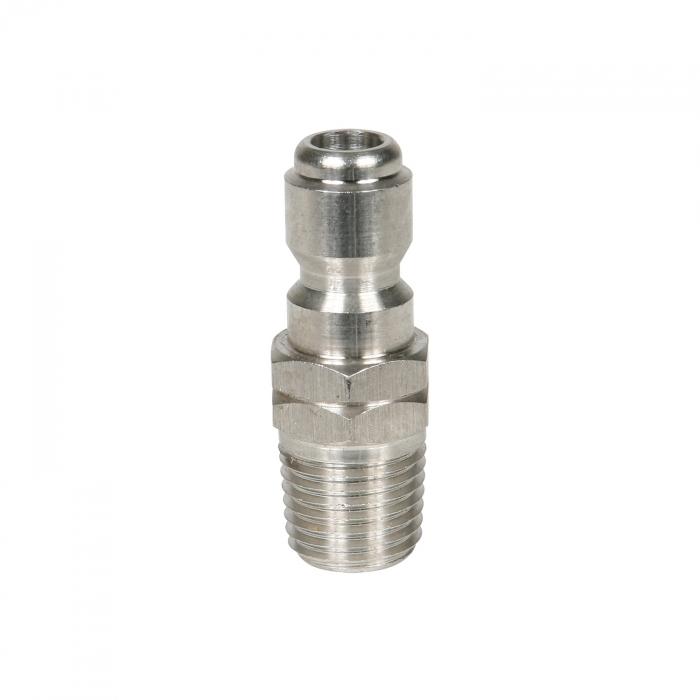 Stainless Steel Plug Male Thread - 1/4