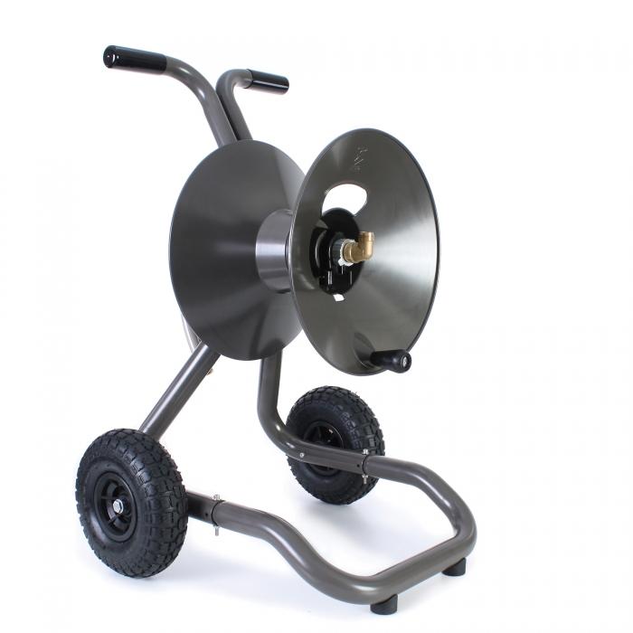 Eley Portable Garden Hose Reel 2-Wheel Cart