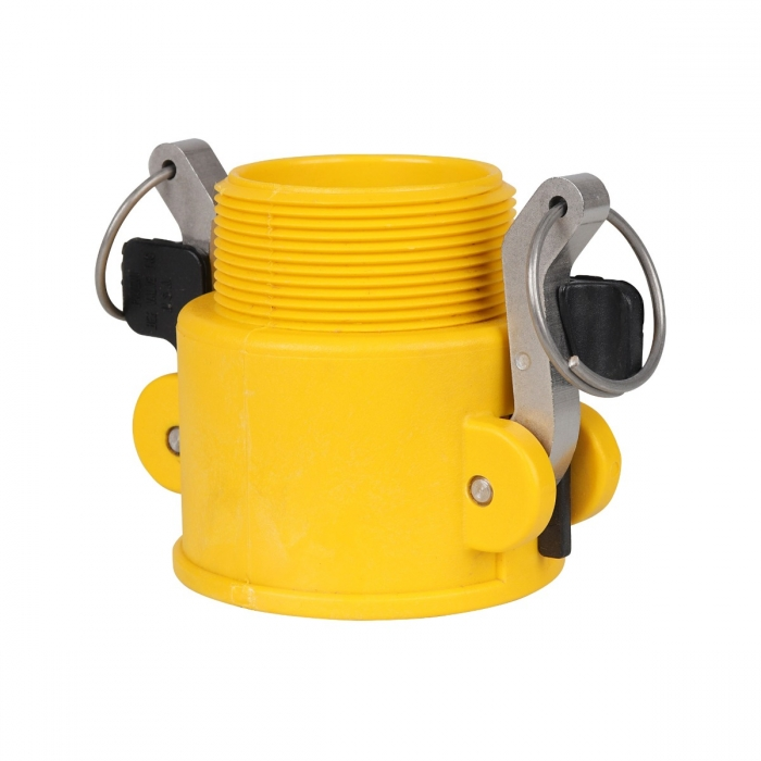 Coupler x Male NPT with SS Handle - 2