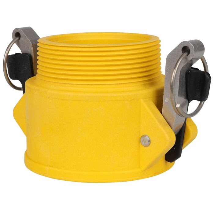 Coupler x Male NPT with SS Handle - 4