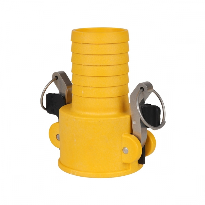 Coupler x Hose Barb with SS Handle - 2