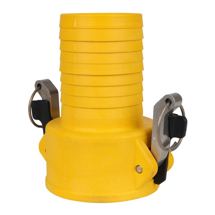 Coupler x Hose Barb with SS Handle - 3
