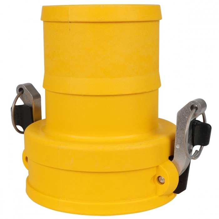 Coupler x Hose Barb with SS Handle - 4