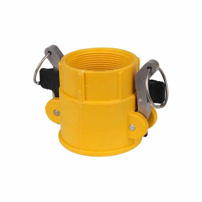 Coupler x Female NPT with SS Handle - 2