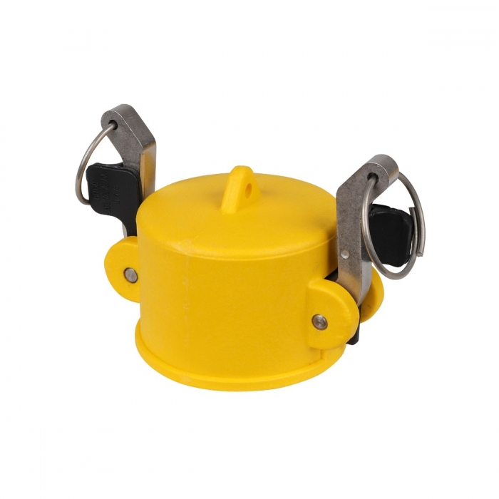 Coupler End Cap with SS Handle - 2
