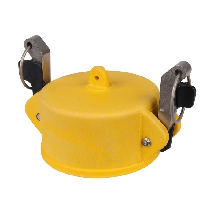Coupler End Cap with SS Handle - 3
