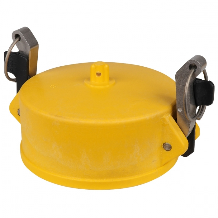Coupler End Cap with SS Handle - 4
