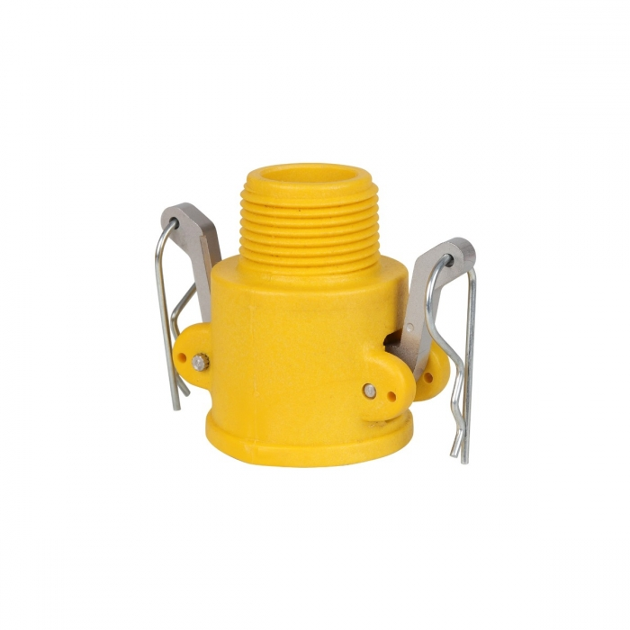 Coupler x Male NPT with SS Handle - 1