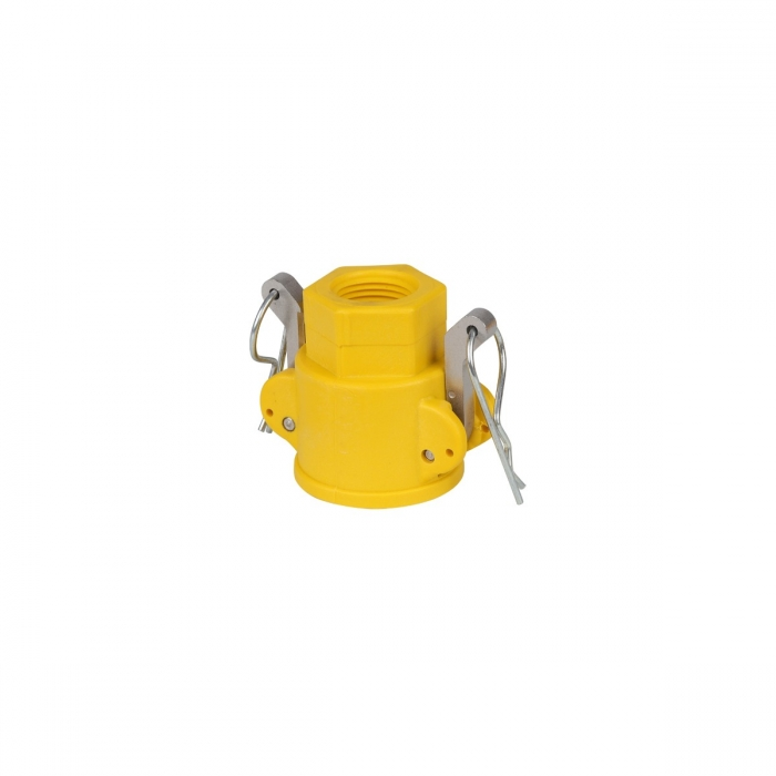 Coupler x Female NPT with SS Handle - 1/2