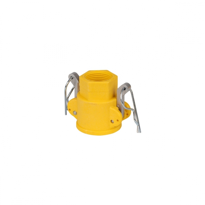 Coupler x Female NPT with SS Handle - 3/4