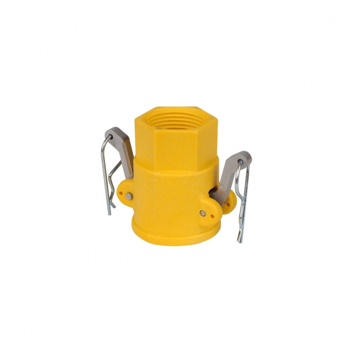 Coupler x Female NPT with SS Handle - 1