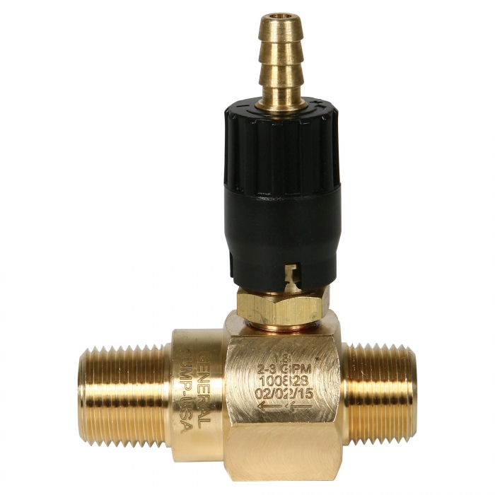 High Draw Adjustable Chemical Injector - 2.0-3.0 GPM