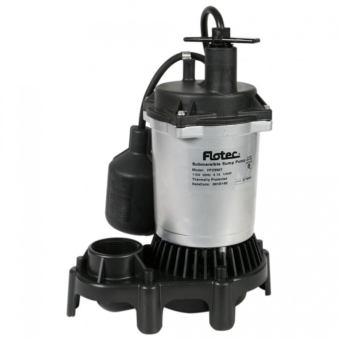 1/2 HP Sump Pump with Float
