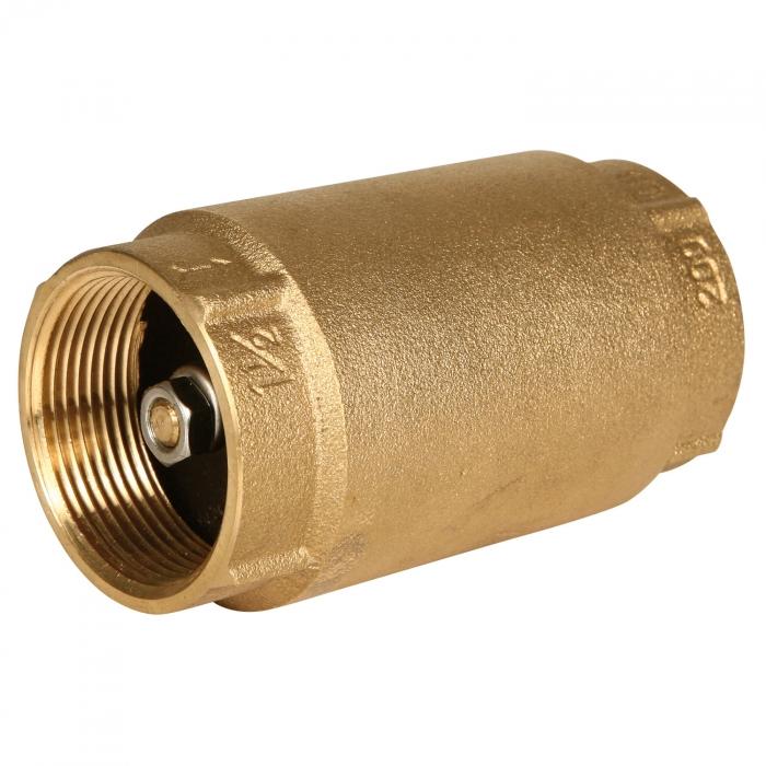 1 1/2 inch NPT Brass Check Valve