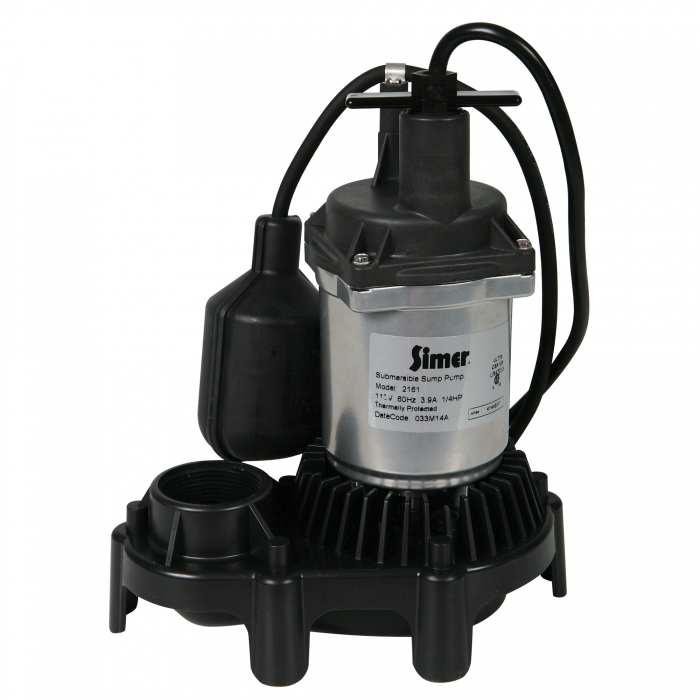 Simer 1/4 HP Sump Pump with Float