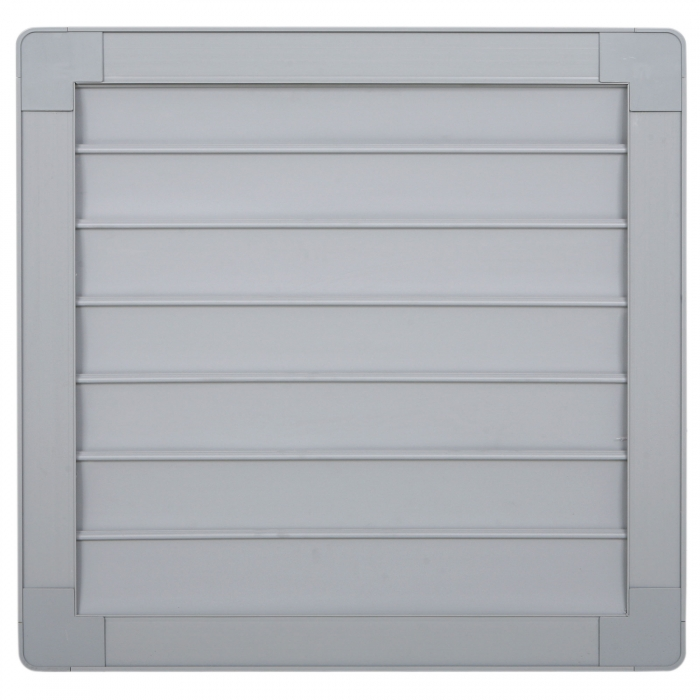 18 inch PVC Shutter for 18 inch Fiberglass DURAFAN - Outside