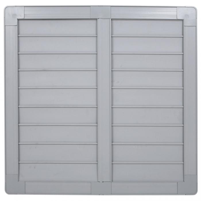 24 inch PVC Shutter for 24 inch Fiberglass DURAFAN - Outside