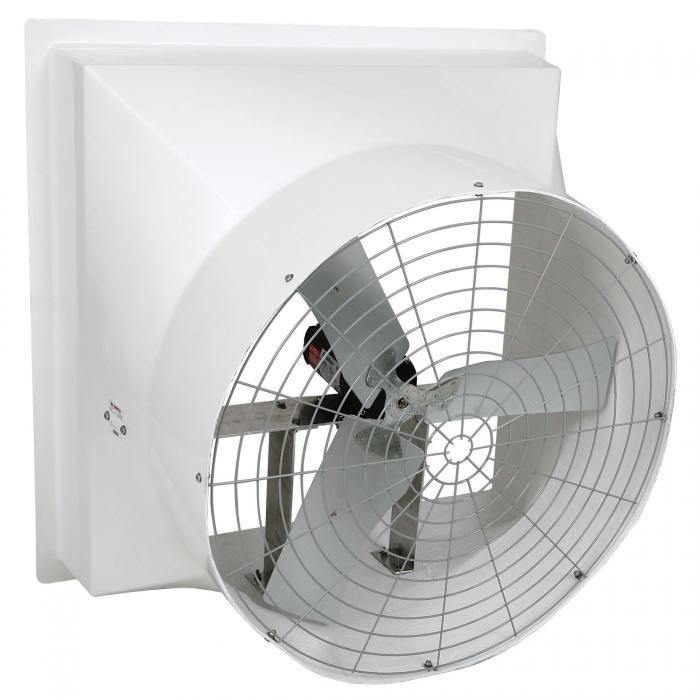 DuraFan 36 inch Fiberglass Fan - Side View