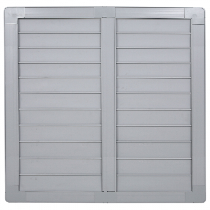 36 inch PVC Shutter for 36 inch Fiberglass DURAFAN - Outside