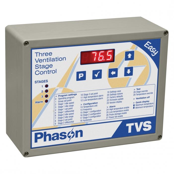 Phason TVS Three Ventilation Stage Control