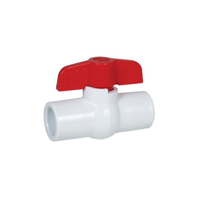 Glue End PVC Ball Valve - 1/2 - View 2
