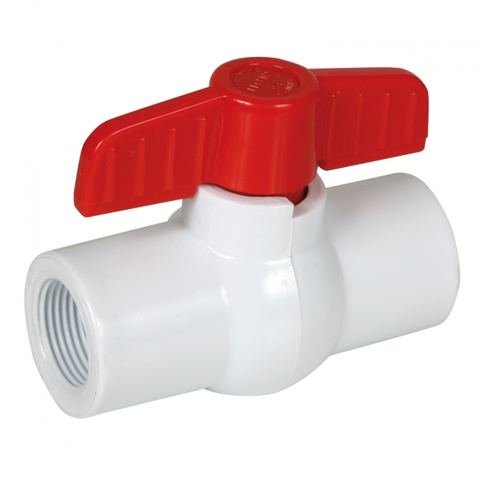 Threaded PVC Ball Valve
