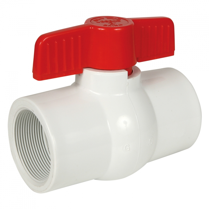 Threaded PVC Ball Valve - 2