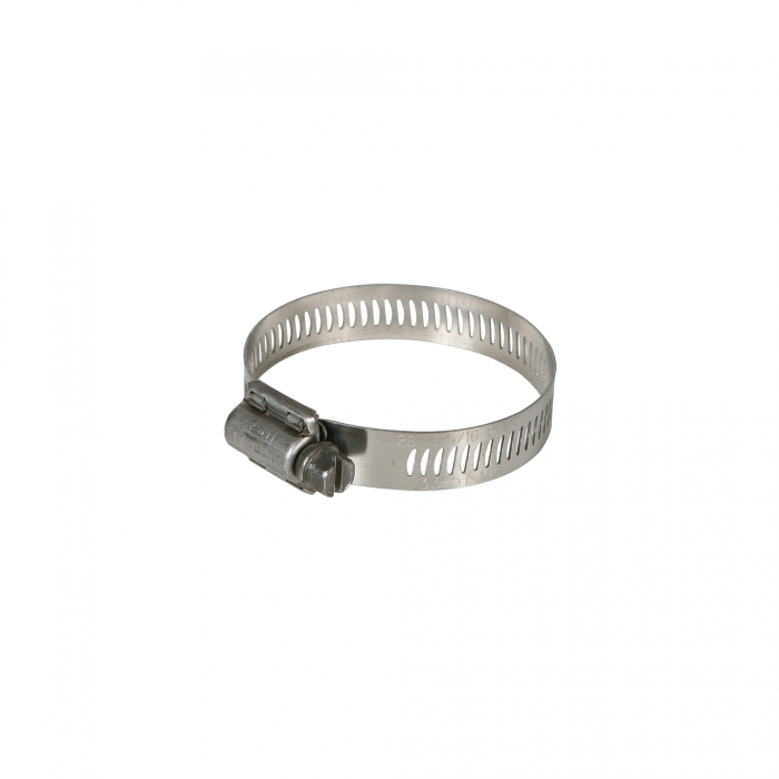 Stainless Steel Hose Clamp - #28 Fits 1 1/4