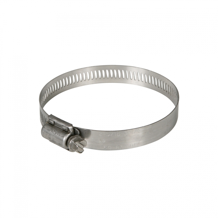 Stainless Steel Hose Clamp - #40 Fits 2 1/4