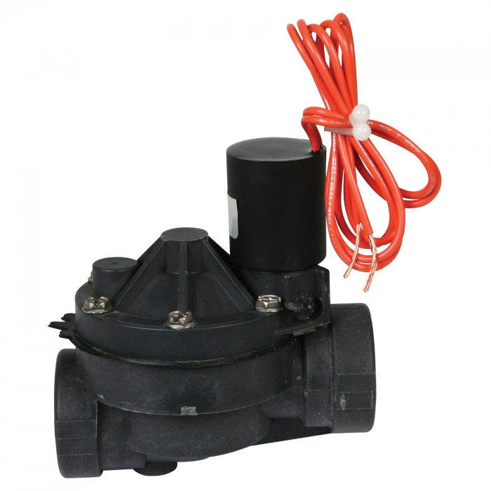 Solenoid Valve with Non-Flow Control - 1 inch Female Thread 220 Volt