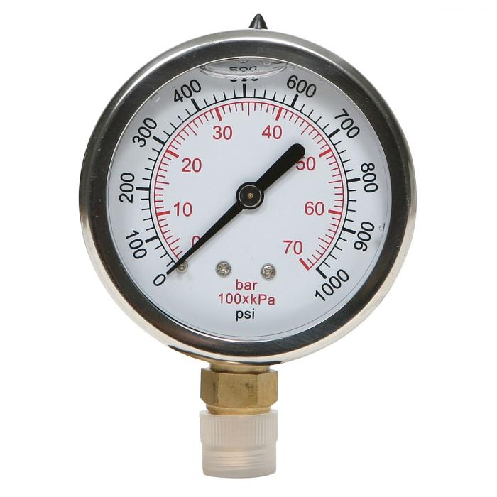 Liquid Filled Gauge - 0-1000 PSI