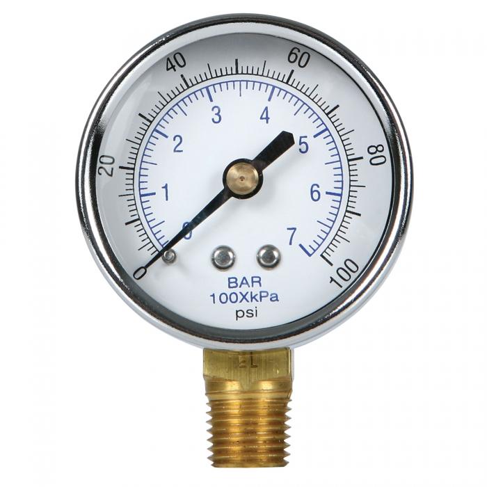 Pressure Gauge - 0-100 PSI