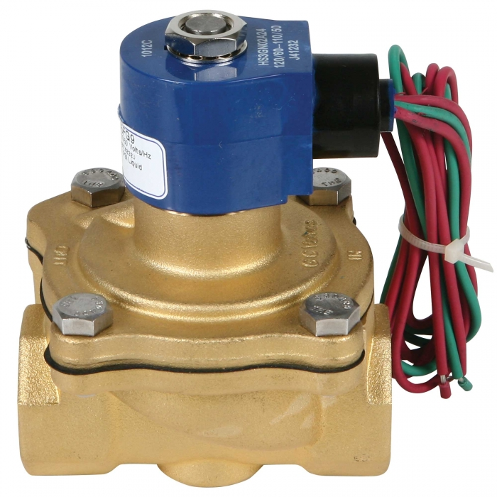 1'' Brass Solenoid Valves - View 1