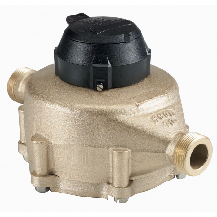 1 Inch  NPT Badger Bronze Water Meter