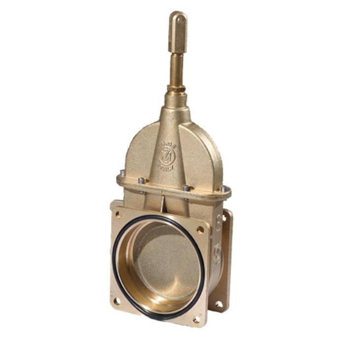 6 inch MZ Brass Piston Gate Valve