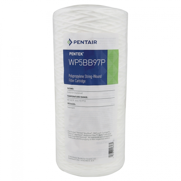 Poly Stringwound (5 Micron) for Big Blue Jumbo 10 - Showing Label