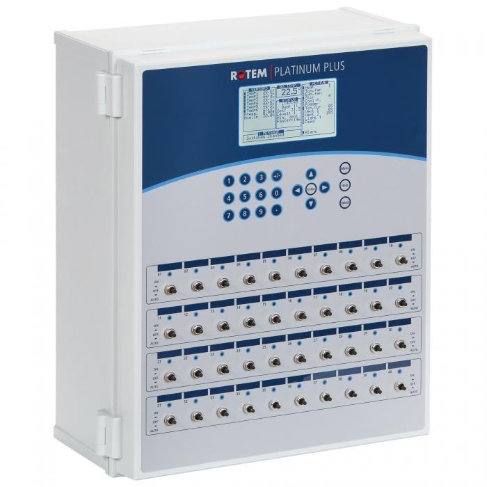 Rotem Platinum Plus Complete Environmental Controller - 40 Relay