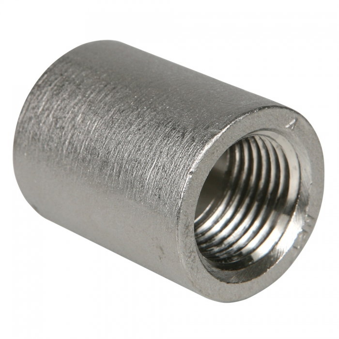 Coupler - 1/2 inch Stainless Steel - View 1