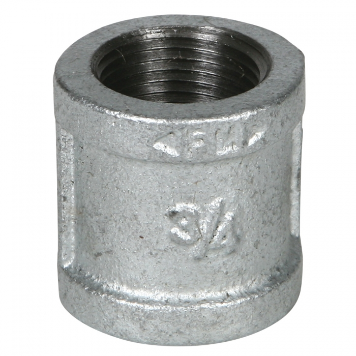Coupler - 3/4 inch Galvanized - View 1