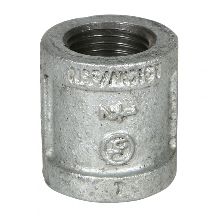 Coupler - 1/2 inch Galvanized - View 1