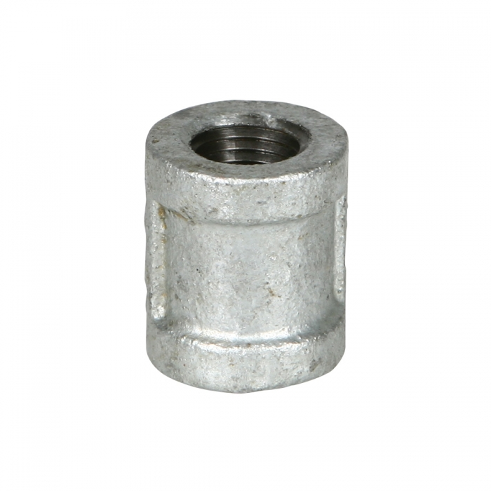 Coupler - 1/4 inch Galvanized - View 1