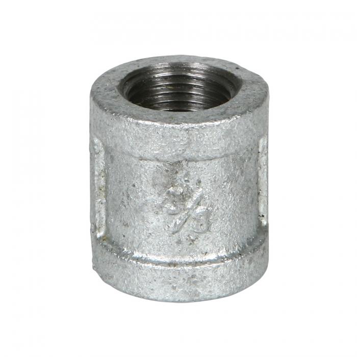 Coupler - 3/8 inch Galvanized - View 1