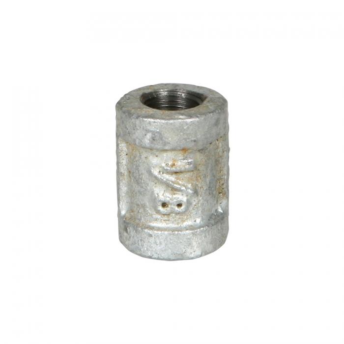 Coupler - 1/8 inch Galvanized - View 1