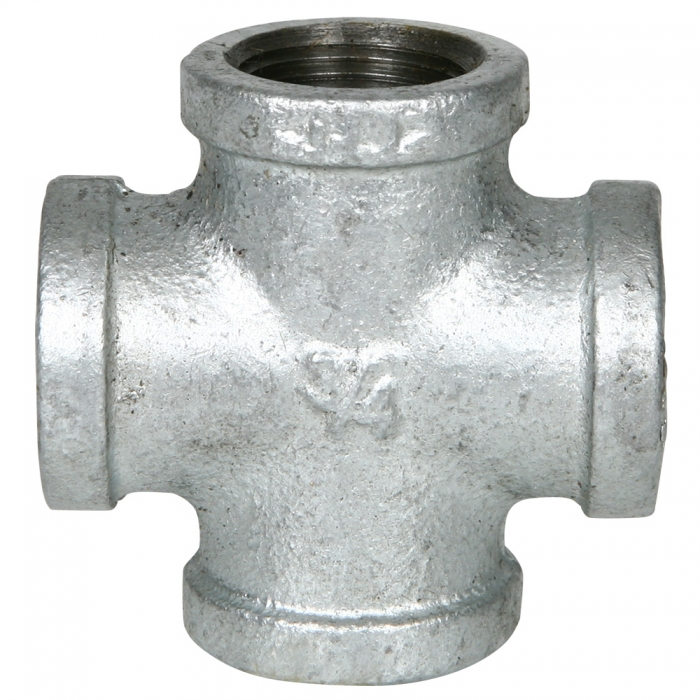Galvanized Cross - 3/4 inch - View 1