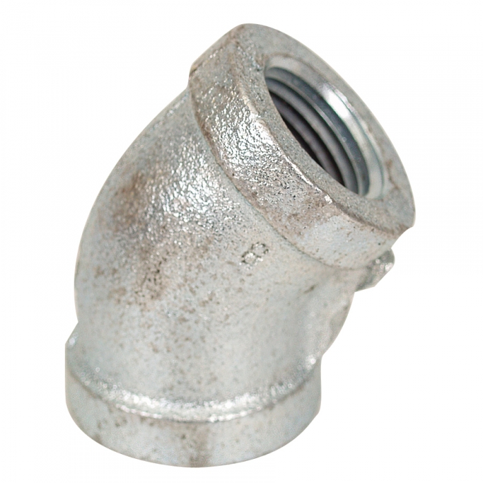 45 Elbow 1/2 inch Galvanized